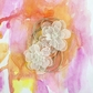 Sunset Paintable Vellum Flowers Nightfall 3""