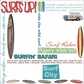 Surfin' Wild Rub-Ons - Surf's Up