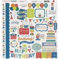 Sweet Summertime Cardstock Stickers - Element