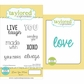 "Taylored Expressions Cling Stamp & Die Set 5.5""x3"" - Love You More"