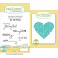 "Taylored Expressions Cling Stamp & Die Set 5.5""x3"" - Pieces Of My Heart"
