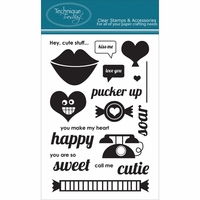 Technique Tuesday Clear Stamps - Pucker Up