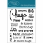Technique Tuesday Clear Stamps - Say It Hugs