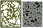 Textured Embossing Folder & Stamp Set - Hero Arts Holly Background
