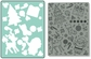 Textured Embossing Folder & Stamp Set - Hero Arts Merry Background
