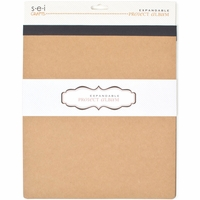 "SEI Expandable Project Album 6""x6"" - Kraft"