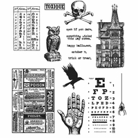 Tim Holtz® Cling Stamps - Mini Halloween #5