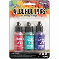 Tim Holtz Alcohol Ink 3Pack - Beach Deco*