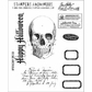Tim Holtz Cling Rubber Stamp Set - Apothecary