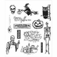 Tim Holtz Cling Rubber Stamp Set - Mini Halloween #4