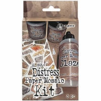 Tim Holtz® Distress Paper Mosaic Kit