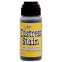 Tim Holtz Distress Stain - April/Fossilized Amber