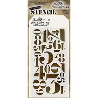 Tim Holtz® Layering Stencil - Numberic