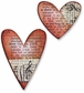 Sizzix Movers & Shapers Magnetic Dies by Tim Holtz - Hearts