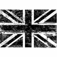 Tim Holtz Red Rubber Stamp - Union Jack