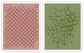 Tim Holtz Texture Fades Embossing Folders - Checkerboard & Cracked