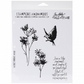 Tim Holtz Unmounted Rubber Stamp Set - Nature's Moments