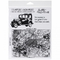 Tim Holtz Unmounted Rubber Stamp Set - Road Trip