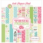 """True Friends Double-Sided Cardstock Pad 6""""x6"""""""