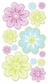 Vellum Stickers - Neon Flowers