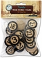 Vintage Collection Bottle Cap Bingo Chips Black