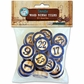 Vintage Collection Wood Bingo Tiles - Blue