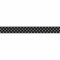 Doodlebug Washi Tape - Beetle Black Swiss Dot