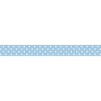 Doodlebug Washi Tape - Bubble Blue Swiss Dot