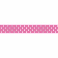 Doodlebug Washi Tape - Bubblegum Swiss Dot