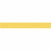 Doodlebug Washi Tape - Bumblebee Swiss Dot