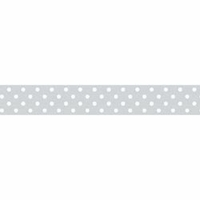 Doodlebug Washi Tape - Grey Swiss Dot