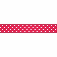 Doodlebug Washi Tape - Ladybug Swiss Dot