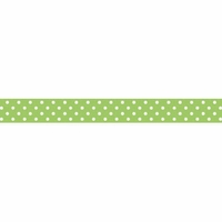 Doodlebug Washi Tape - Limeade Swiss Dot