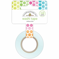 Washi Tape - Rainbow Dots