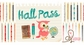 Websters Pages Hall Pass