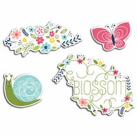 Welcome Spring Cardstock Die-Cuts - Blossom