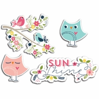 Welcome Spring Cardstock Die-Cuts - Sunshine