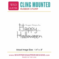 "Whipper Snapper Cling Stamp 2.5""x3.5"" - Halloween"