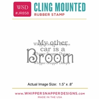 "Whipper Snapper Cling Stamp 2.5""x3.5"" - My Other Car"