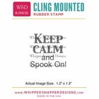 "Whipper Snapper Cling Stamp 2.5""x3.5"" - Spook On"