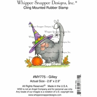 "Whipper Snapper Cling Stamp 4""x6"" - Gilley"