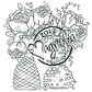 With Love Cling Stamp - Bouquets With Love