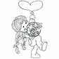 With Love Cling Stamp - Up Up And Away