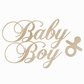 Wood Flourishes - Baby Boy