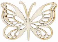 Wood Flourishes - Butterfly