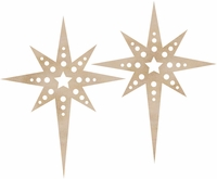 Wood Flourishes - Christmas Star