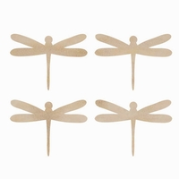 Wood Flourishes - Dragonflies
