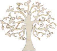 Wood Flourishes - Elm Tree
