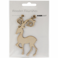 Wood Flourishes - Fancy Deer
