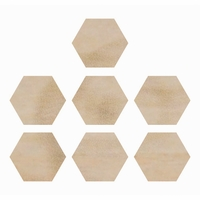 Wood Flourishes - Hexagons